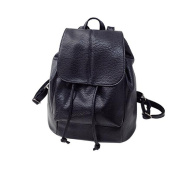 Mini Backpack, Rcool Women Girl Fashion Casual Leather Satchel School Style Solid Student Shoulder Backpack Schoolbag Travel Rucksack Bags