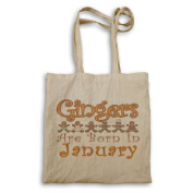 Gingers are born in January Tote bag aa36r