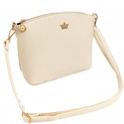 Single-shoulder Bag for Women, Xjp Casual PU Leather Shoulder Bag Cross-body Bag White