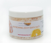 1tub Refreshing Zesty Bath Salts, 100% natural, approx 500g
