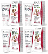 4x Revuele Slim & Detox Concentrate Serum for Fight against Advanced Cellulite 200ml