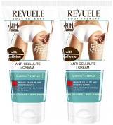2x Revuele Anti-Cellulite Cream with Caffeine 200ml