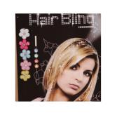 Miya 1 Set Hair Steinchen Glitter Hairstyle Hair Threading Helper Children Rhinestone Crystal Bling Crystal Headdress Flower without Thread HB008 Heat