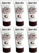 TWELVE PACKS of Inecto Smooth Me Coconut Hair Serum 50ml