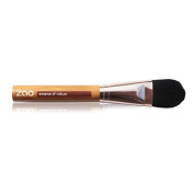 Zao Flat Foundation Brush - Foundation Brush for Foundation, Bamboo, Vegan
