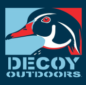 Decoy Outdoors Wood Duck Drake, Duck Hunting Sticker Decal