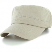 Khaki_(US Seller)Military Style Caps Hat Unizex Bucket