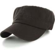 Brown_(US Seller)Military Style Caps Hat Unizex Bucket