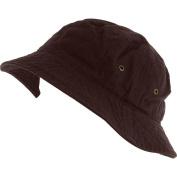 Brown_(US Seller) 100% Cotton Hat Cap Bucket Boonie Unisex