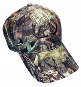 Mosssy Oak Camo Deer Hunting cap with Moisture Wicking Stay Cool Camo Cap Great for Warm Weather or the Bow or Turkey Hunter