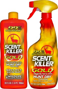 Scent Killer 1259 Wildlife Research Scent Killer Gold 24/24 Combo, 1420ml