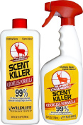 Scent Killer 559 Wildlife Research Super Charged Scent Killer Spray 24/24 Combo, 1420ml