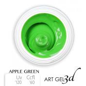 Art Gel 3d - Apple Green - Green - 5 ml