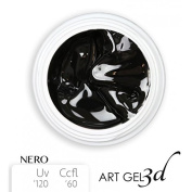 Art Gel 3d - Black - 5 ml