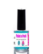 Nail Paint & Peel Off Liquid Nails Art Tape Blue Latex Rubber