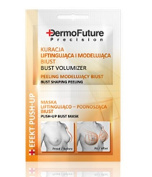 DermoFuture Precision BUST VOLUMIZER firming peeling and mask Effect Push up