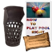 6 Replacement Billiard Pool Pockets with BCA Booklet & Talc Bag