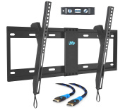 Mounting Dream MD2268-LK-02 TV Wall Mount Tilting Bracket for Most 42-70 Inch LED, LCD and Plasma TVs up to VESA 600 x 400mm and 60 KG Loading Capacity, 1.8m HDMI Cable