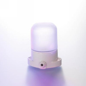 Eliga Interior Light Satin Glass Dome for use in Saunas