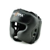 MaxxMMA Headgear Black L/XL for Boxing MMA -  .