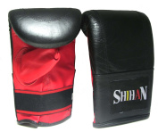 Heavy Bag Training Gloves 'SHIHAN' Genuine Leather Size-LARGE