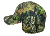 Mossy Oakoc Gear Water Defence Cap with Ear Flaps, Flexible Fitted