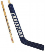 Christian Senior Diamond Wrap Goalie Ice Hockey Stick. srdiamond-Left/Blue-White