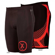 Quiksilver Men's Xplosive Compression Shorts - Tights, Black, MQMBS906, 36 Waist