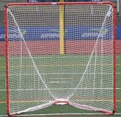 Brine Backyard Lacrosse Goal (Net Included), 6 x 1.8m x 2.1m, Orange