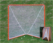 EZGoal Lacrosse Folding Goal, 1.8m x 1.8m, Orange