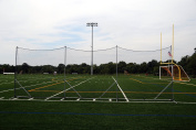 Predator Lacrosse Backstop Barrier Freestanding Netting 3mm Black [Misc.]