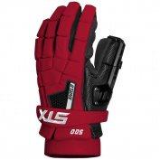 STX Shield 500 Lacrosse Goalie Gloves Red 33cm