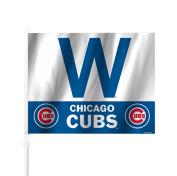 "Chicago Cubs ""W"" Car Flag"