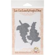 La-La Land Die-Shabby Flourishes, 3.8cm x 7.6cm