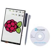 8.9cm TFT LCD 480x 320 Screen For Raspberry Pi 3 2 , Elegoo 8.9cm 480x 320 TFT Touch Screen Monitor for Raspberry Pi Model B B+ A+ A Module SPI Interface with Touch Pen SC06