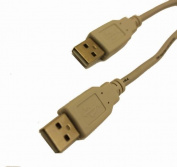 Vse 271745 USB 2.0 Cable, A Male To B Male to Male, 5 Metre, Grey