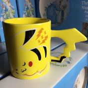 New arrival Creative new Pokemon Pikachu ceramic travel mug of coffee tea water bottle adult baby gifts cup espresso cups