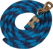 Poly Colourful Lead Ropes, Bull Snap Blue/Navy