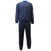 Lacoste Sport Teffeta Tennis Tracksuit with Mesh Panels - NAVY BLUE/ROYAL BLUE-WHITE - Mens - XXL