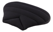 Sitwell wedge-shaped pillow Car Seat cushion pillow Fabric black