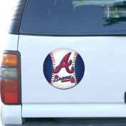 MLB Atlanta Braves 20cm Baseball Team Logo Car Magnet