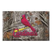 FANMATS 19055 Team Colour 48cm x 80cm St Louis Cardinals Scraper Mat