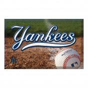 FANMATS 19040 Team Colour 48cm x 80cm New York Yankees Scraper Mat
