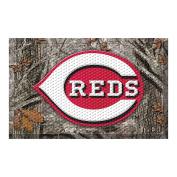 FANMATS 19017 Team Colour 48cm x 80cm Cincinnati Reds Scraper Mat