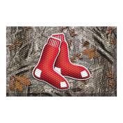 FANMATS 19011 Team Colour 48cm x 80cm Boston Red Sox Scraper Mat
