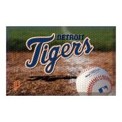 FANMATS 19022 Team Colour 48cm x 80cm Detroit Tigers Scraper Mat