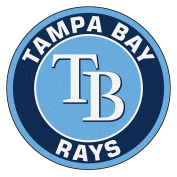 FANMATS 18152 MLB Tampa Bay Rays Roundel Mat