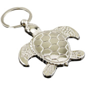 C-Pioneer Cute Sea Turtle Keyring Keychain Classic 3D Pendant Key Bag Chain Creative Gift