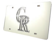 Rockies Licence Plate Tag