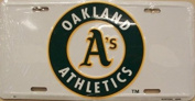 Oakland Athletics A's Licence Plate